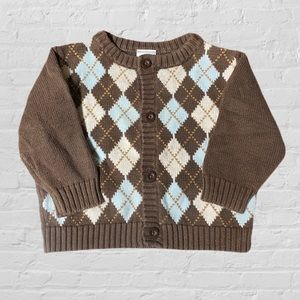 💲2/$10💲Gymboree Infant Brown Cardigan Sweater